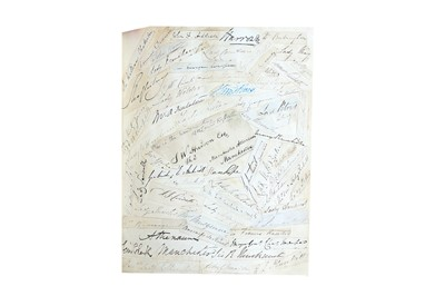 Lot 1420 - Autograph Album.-19th Century