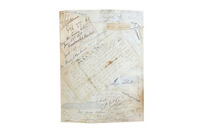 Lot 1420 - Autograph Album.-19th Century
