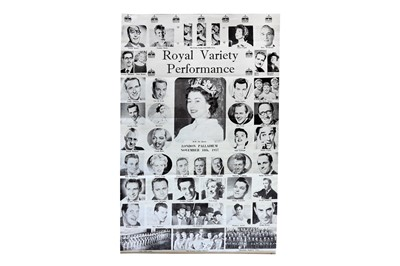 Lot 1457 - Actors & Entertainers.- Royal Variety Performance 1957