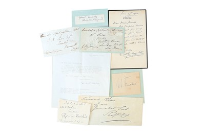 Lot 1431 - Autograph Collection.- Miscellaneous