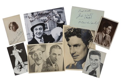 Lot 1426 - Autograph Collection.- Actors & Entertainers