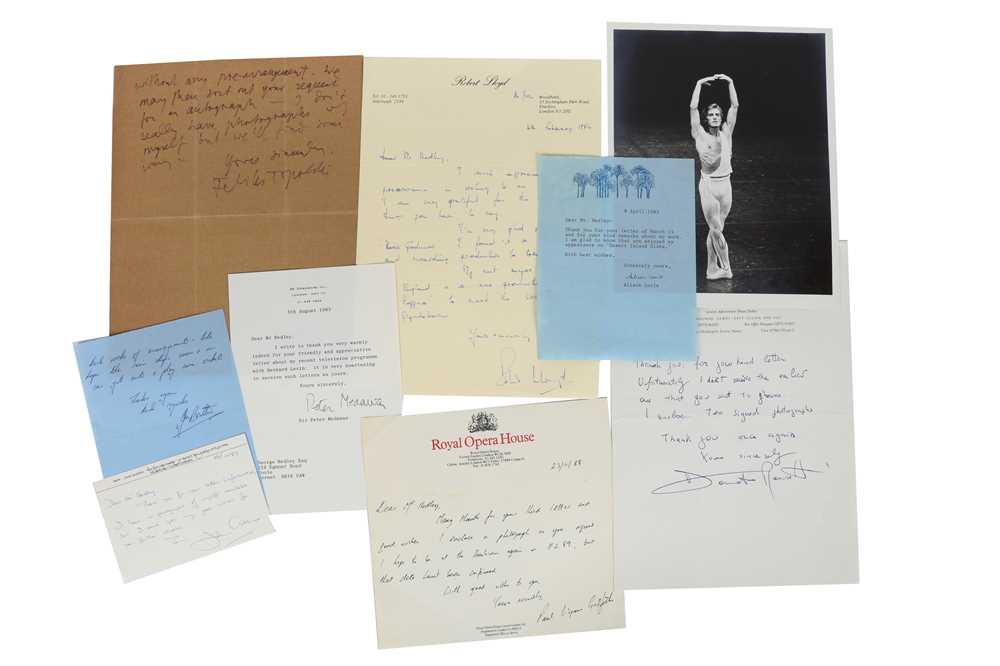 Lot 1433 - Autograph Collection.- Miscellaneous