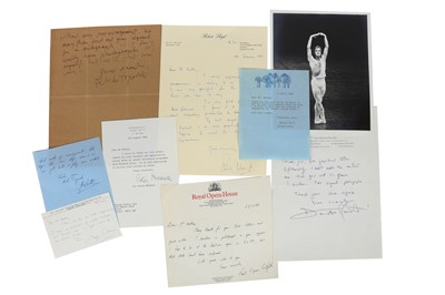 Lot 1433 - Autograph Collection.- Miscellaneous
