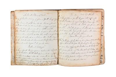 Lot 1444 - Manuscript Cookery Book