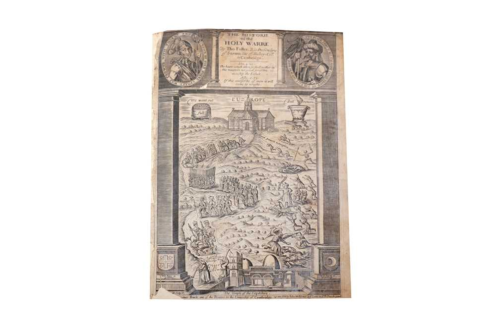 Lot 1041 - Fuller. The Historie of the Holy Warre/The Holy State, The Profane State, 1647 & 1642