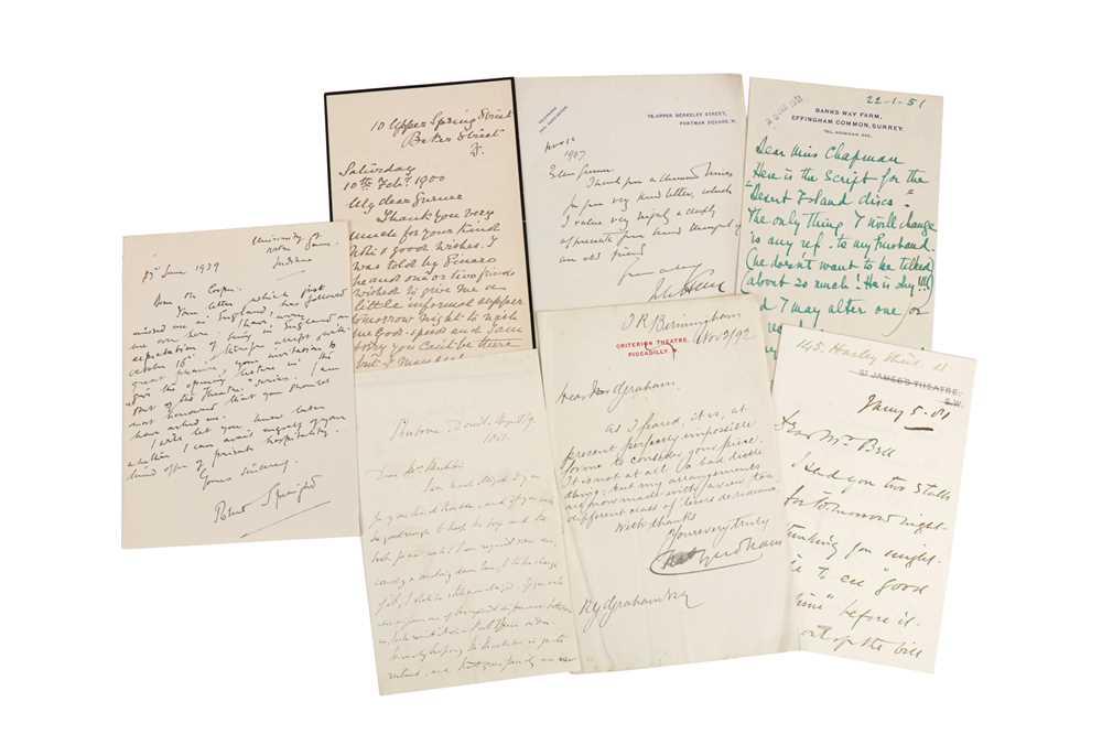 Lot 1438 - Autograph Collection.- Theatre Interest