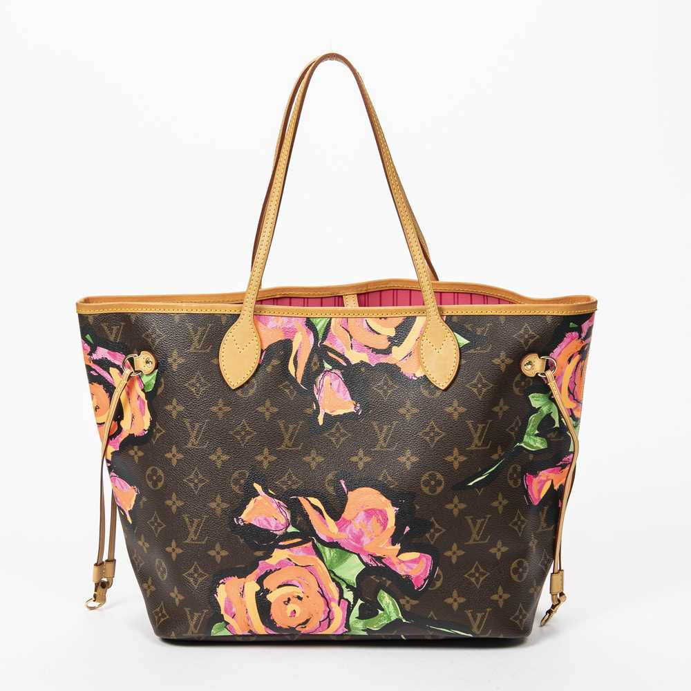 Lot 31 - Louis Vuttion Stephen Sprouse Neverfull Roses MM