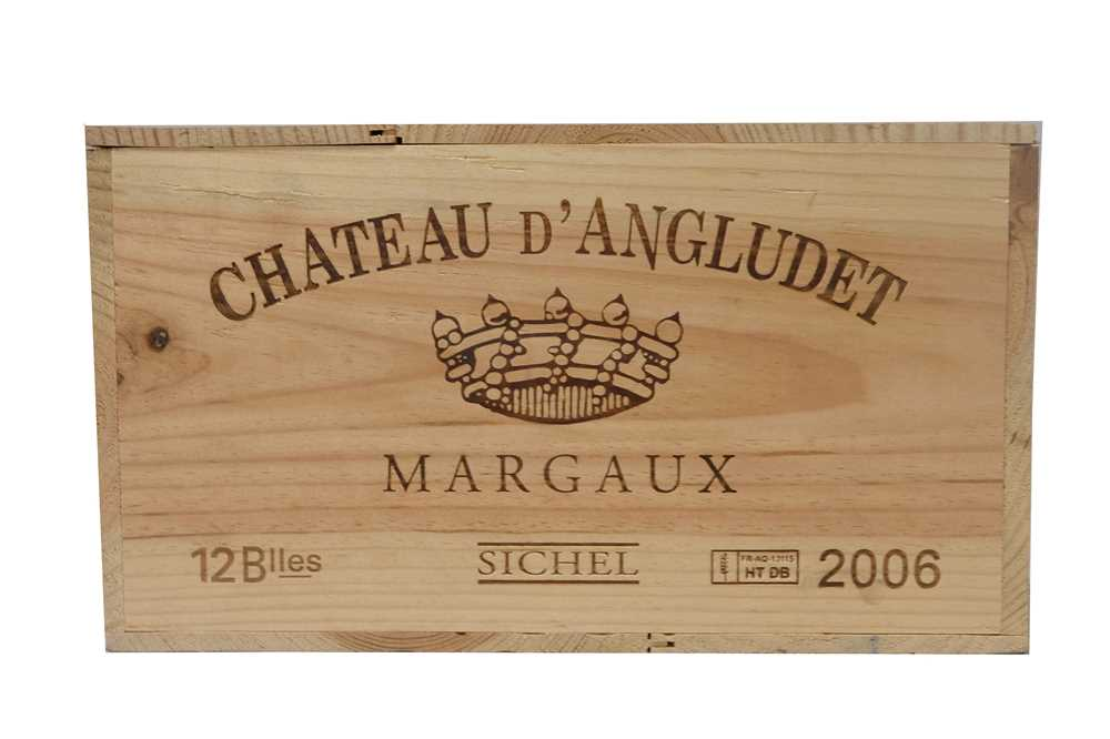 Lot 31 - Chateau d'Angludet 2006