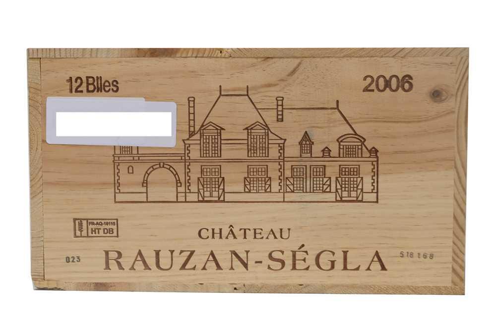 Lot 36 - Chateau Rauzan-Segla 2006