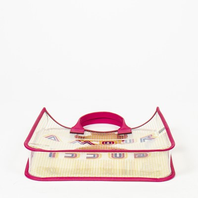 Lot 33 - Gucci Amour Transparent Shopping Tote