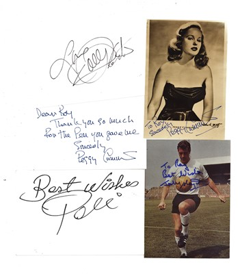 Lot 1434 - Autograph Collection.- Miscellaneous