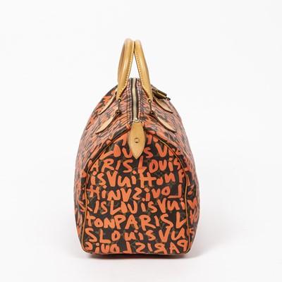 Lot 4 - Louis Vuitton Stephen Sprouse Graffiti Speedy 30