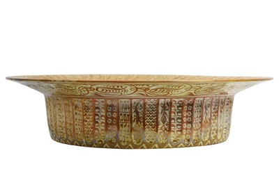 Lot 73 - A LATE 19TH CENTURY CANTAGALLI HISPANO MORESQUE LUSTRE CHARGER