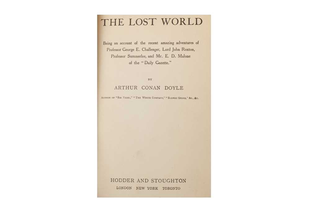Lot 1008 - Doyle & Kipling bindings