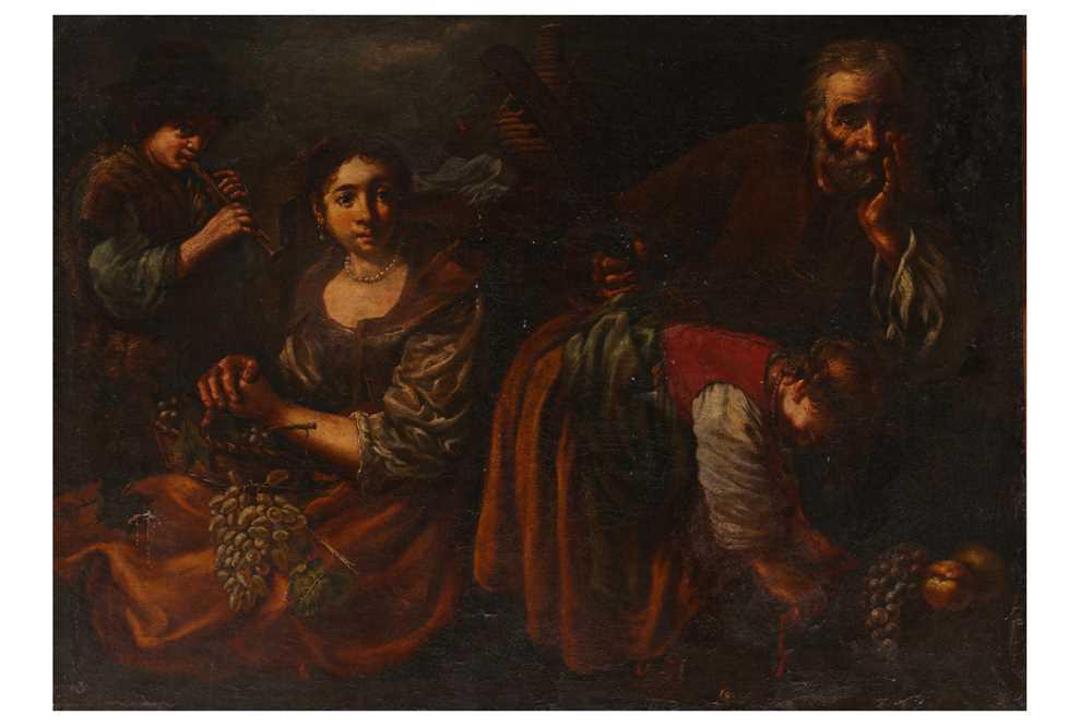 Lot 108 - BERNHARD KEILHAU CALLED MONSÙ BERNARDO (HELSINGOR 1624  - ROME 1687)
