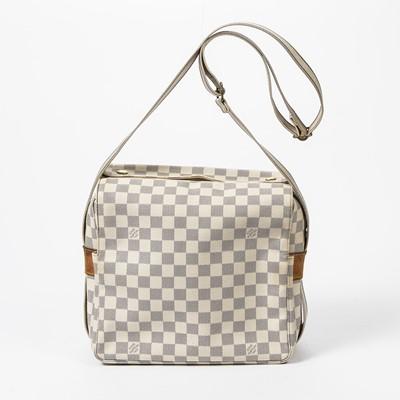 Lot 70 - Louis Vuitton Damier Azur Naviglio Shoulder Bag