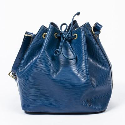 Lot 80 - Louis Vuitton Blue Epi Noe PM