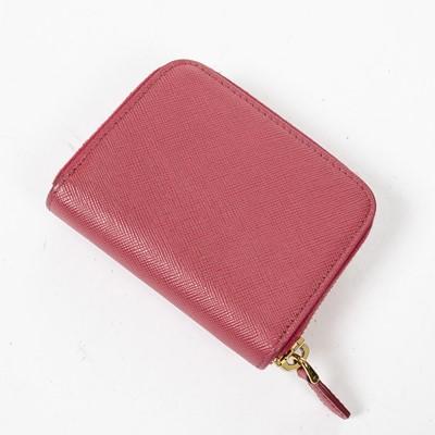 Lot 41 - Prada Pink Saffiano Coin Zip Wallet