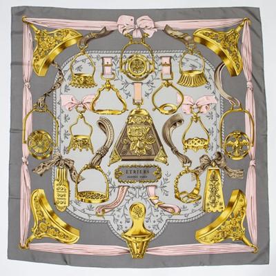 Lot 64 - Hermes 'Etriers' Silk Scarf