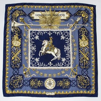 Lot 88 - Hermes 'Ludovicus Magnus' Silk Scarf
