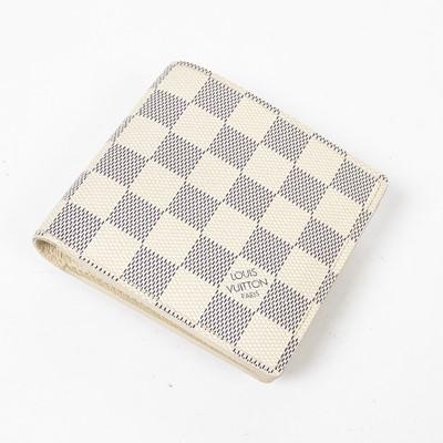 Lot 73 - Louis Vuitton Damier Azur Marco Wallet
