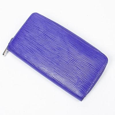 Lot 91 - Louis Vuitton Figue Violette Epi Zippy Wallet