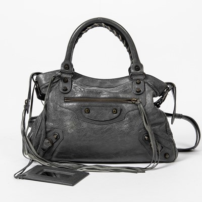 Lot 58 - Balenciaga Grey Classic Town Bag