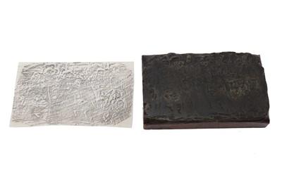 Lot 1031 - Browne (Phiz). Original woodblock