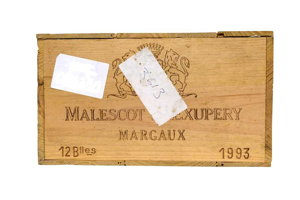 Lot 35 - Chateau Malescot St Exupery - Margaux 1993 - OWC