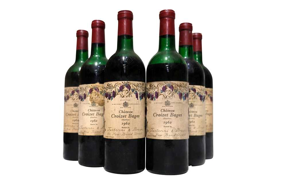 Lot 40 - Chateau Croizet-Bages 1962