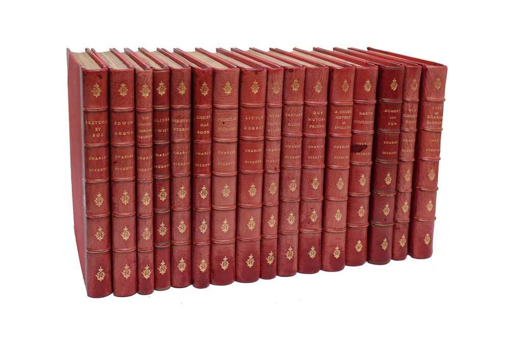 Lot 1038 - Dickens. Works. 16 vol., n.d.