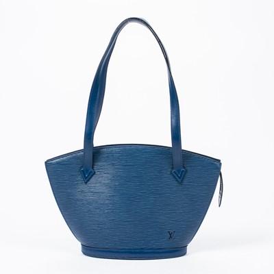 Lot 82 - Louis Vuitton Blue Epi St Jacques Long Strap PM