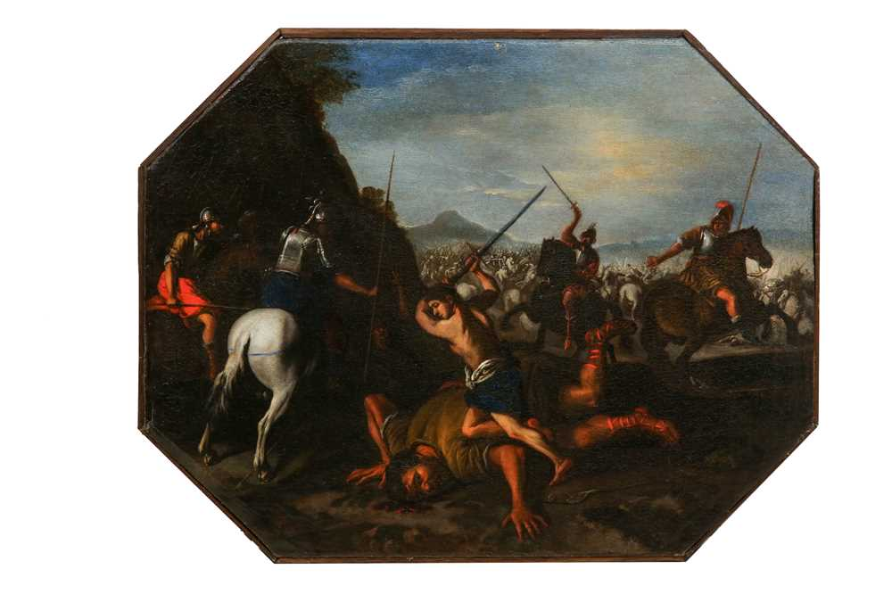 Lot 125 - ANDREA DE LEONE (NAPLES 1610 - 1685)