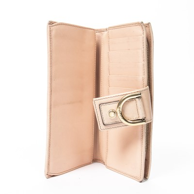 Lot 43 - Gucci Pink Guccissima Long Wallet