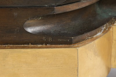 Lot 93 - A 19TH CENTURY BRONZE MANTEL CLOCK BY HENRI PICARD AND RAINGO FRERES