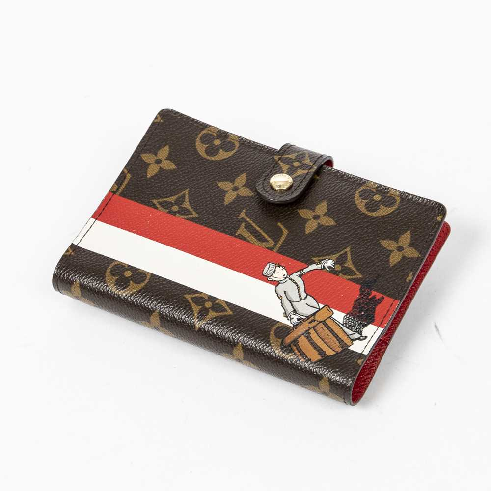 Lot 23 - Louis Vuitton Monogram Tintin Groom Agenda Cover