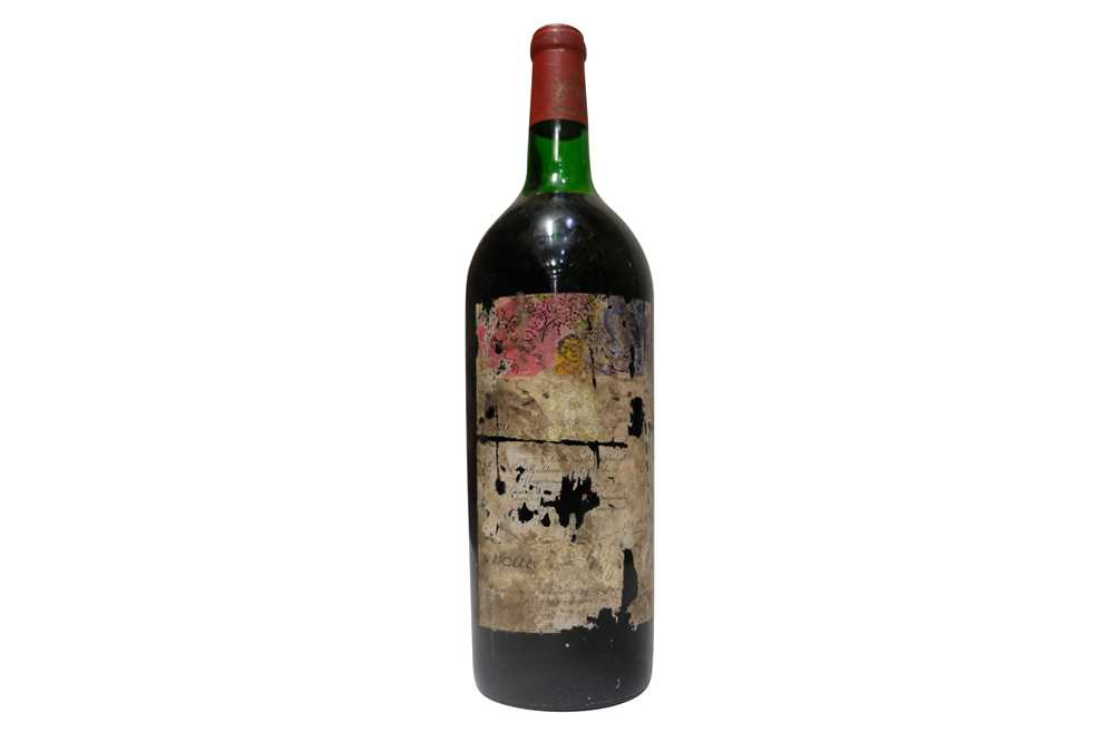 Lot 28 - Chateau Mouton Rothschild 1970 Magnum