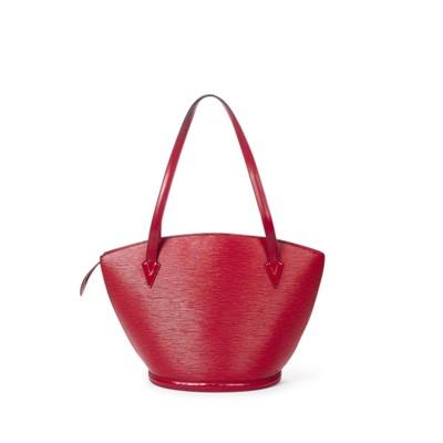 Lot 8 - Louis Vuitton Red Epi St Jacques GM