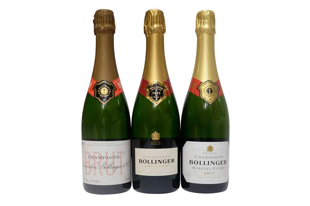 Lot 4 - Bollinger Special Cuvée 100th Anniversary Gift Box