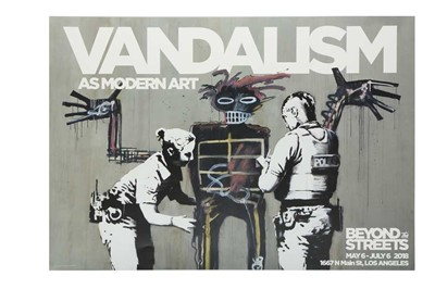 Lot 314 - BANKSY (BRITISH B. 1974)