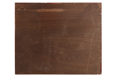 Lot 72 - A LATE 19TH CENTURY QAJAR GLAZED POTTERY TILE CIRCA 1880, PERSIA