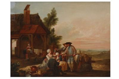 Lot 152 - LOUIS-JOSEPH WATTEAU CALLED WATTEAU DE LILLE (VALENCIENNES 1758 -  LILLE 1823)
