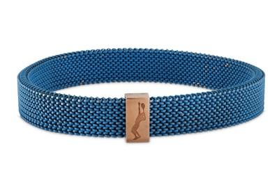Lot 22 - Rolland Garros for Mauboussin | A mesh bracelet, 2018