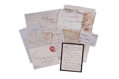 Lot 1435 - Autograph Collection.- Miscellaneous