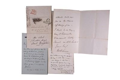 Lot 1435 - Autograph Collection.- Miscellaneous