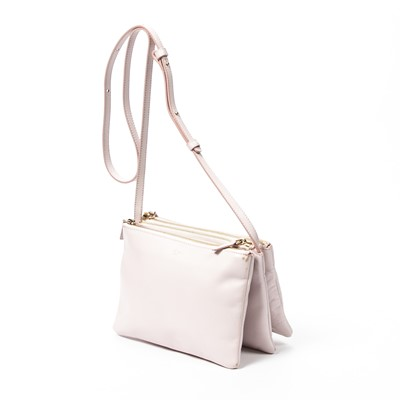Lot 38 - Celine Pale Pink Trio Shoulder Bag