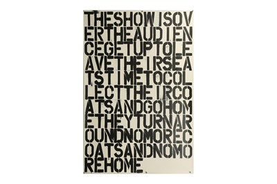 Lot 348 - CHRISTOPHER WOOL (AMERICAN B. 1955)