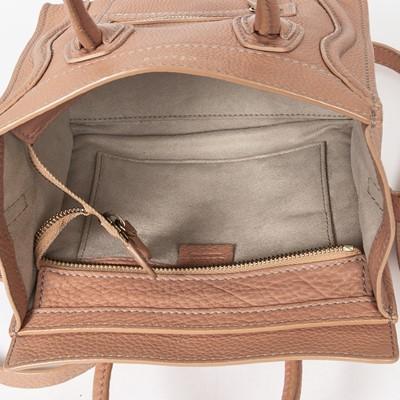 Lot 32 - Celine Peach Nano Luggage Bag