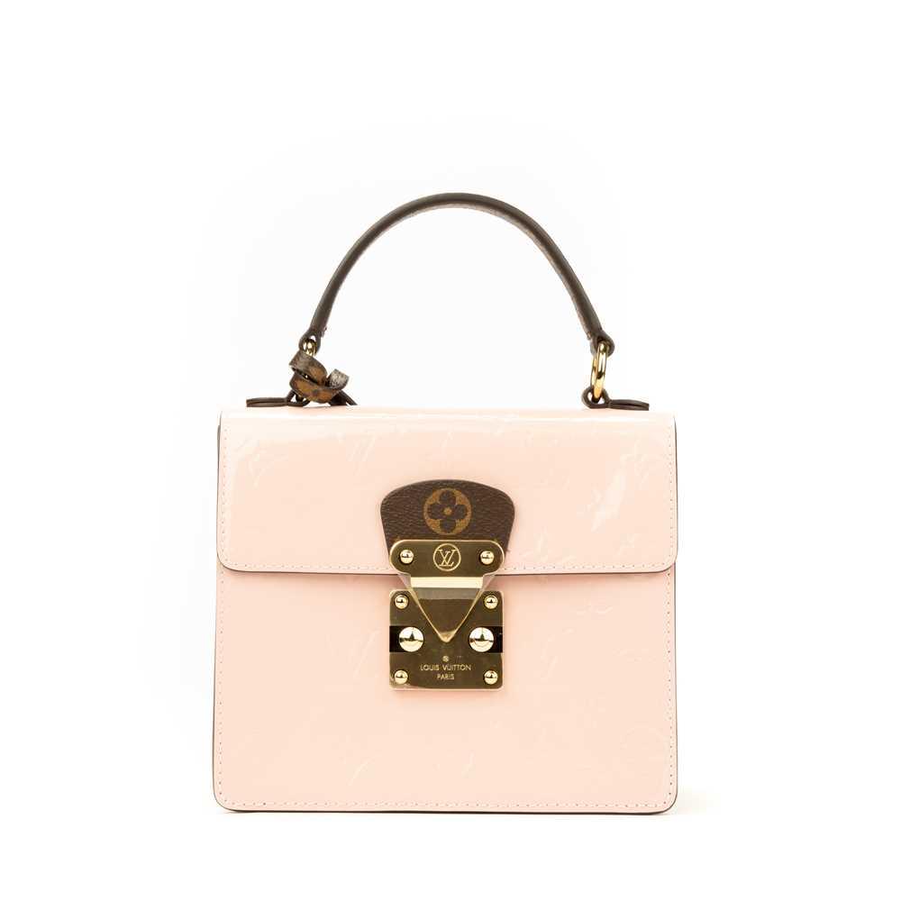 Lot 30 - Louis Vuitton Rose Ballerine Spring Street Bag