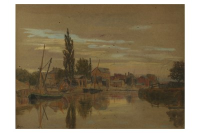 Lot 386 - ALBERT GOODWIN RWS (BRITISH 1845-1932)